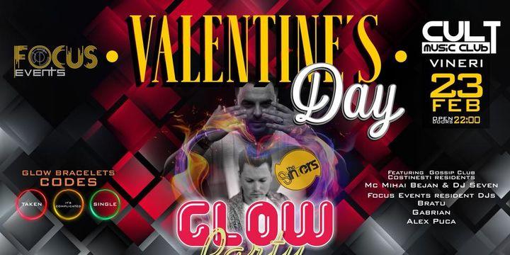 Valentine's Day Glow Party