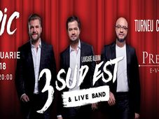 3 SUD EST & Live Band - EPIC | Live in Timisoara 15 FEB 2018