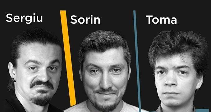 STAND-UP COMEDY cu Sergiu, Sorin si Toma la Pub Skit '77