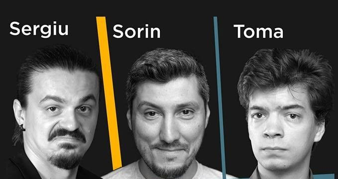 STAND-UP COMEDY cu Sergiu, Sorin si Toma la Oh Carol - Cluj-Napoca