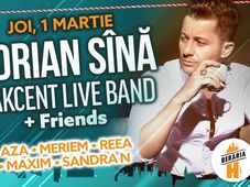 Adrian Sînă & Akcent Live Band + Friends