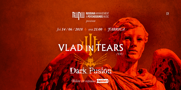Concert Vlad in Tears si Dark Fusion - Bucuresti