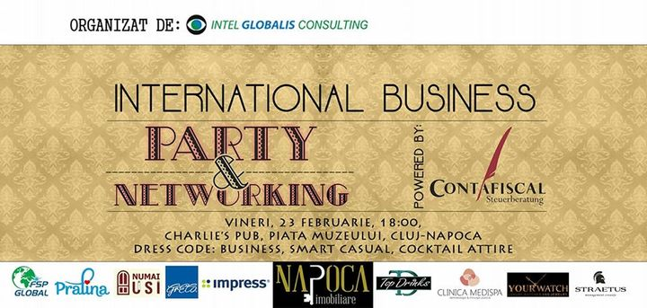 INTERNATIONAL BUSINESS Party & Networking