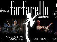Farfarello feat. Țăndărică și Ioji Kappl - Concert la Berăria H