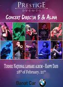 Concert Directia 5 si Alina