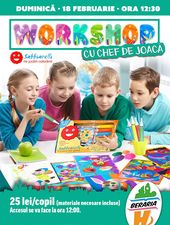 Workshop pentru Copii: Sabbiarelli