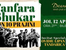 Fanfara Zece Prajini si Ovidiu Lipan Tandarica LIVE@Deane's Irish Pub