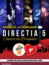 Direcția 5 - Concert de Dragobete la Berăria H