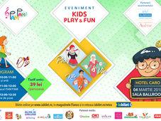 Eveniment KIDS PLAY&FUN  Teatru muzical, jocuri interactive și workshop dedicat mamei