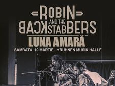 Concert Robin And The Backstabbers si Luna Amara