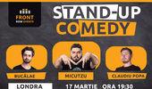 Londra: Stand-up comedy cu Micutzu, Bucălae & Claudiu Popa