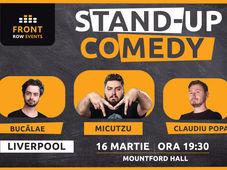 Liverpool: Stand-up comedy cu Micutzu, Bucălae & Claudiu Popa