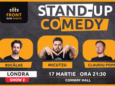Londra 2: Stand-up comedy cu Micutzu, Bucălae & Claudiu Popa