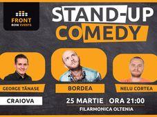 Craiova: Stand-up comedy cu Bordea, Tănase si Nelu Cortea