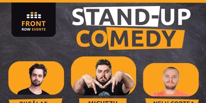 Paris: Stand-up comedy cu Micutzu, Bucălae & Nelu Cortea