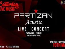 Partizan acoustic at Mojo