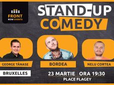Bruxelles: Stand-up comedy cu Bordea, George Tănase & Nelu Cortea