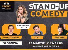 Slobozia: Stand-up comedy cu Ana-Maria, George, Coco si Teodora
