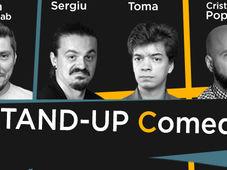Stand-up @The Wolf Sibiu cu Sorin, Sergiu, Toma si Popesco