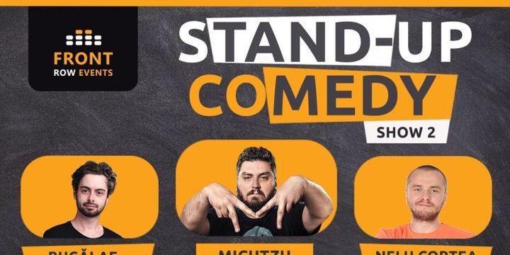 Amsterdam 2: Stand-up comedy cu Micutzu, Bucălae & Nelu Cortea