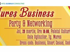 Mures Business Par­ty & Networking