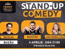 Buzău: Stand-up comedy cu Micutzu, Ana-Maria & Bucălae Show 1