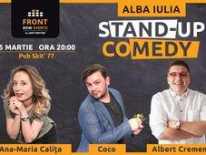 Alba Iulia: Stand-up comedy cu Ana-Maria, Coco & Albert Cremene