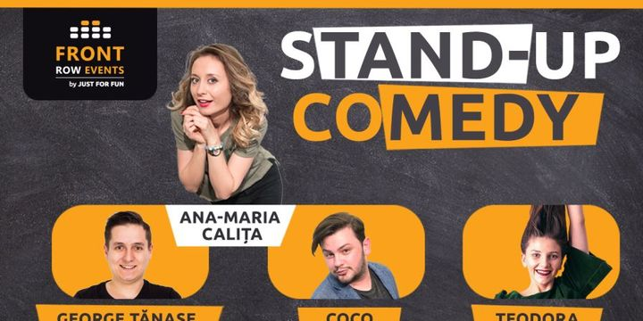 Mangalia: Stand-up comedy cu Ana-Maria, George, Coco siTeodora