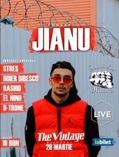 Concert Jianu live in The Vintage Pub