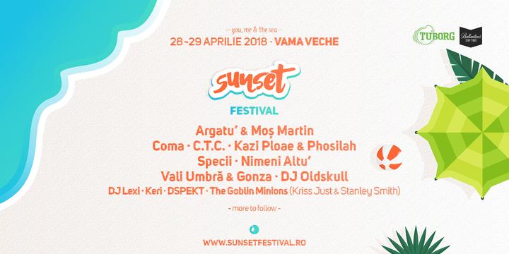 Sunset Festival 2018 - editia a V -a -