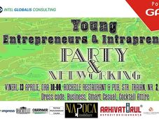 Young Entrepreneurs & Intrapreneurs Par­ty & Networking