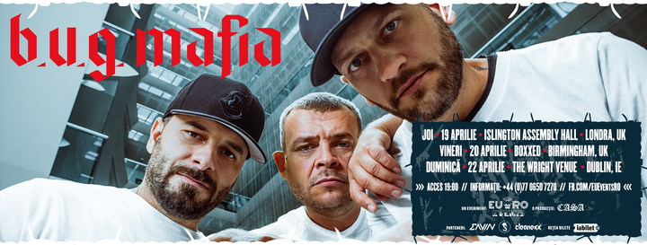 Concert B.U.G. Mafia - Birmingham