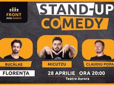 Florența: Stand-up comedy cu Micutzu, Bucălae & Claudiu Popa
