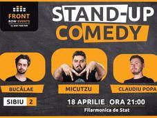 Sibiu: Stand-up comedy cu Micutzu, Bucălae & Claudiu Popa - Show 2