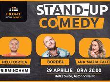Birmingham: Stand-up comedy cu Bordea, Ana-Maria Calița & Nelu Cortea