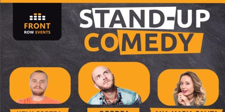 Manchester: Stand-up comedy cu Bordea, Ana-Maria Calița & Nelu Cortea