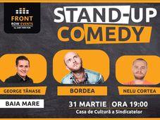 Baia Mare: Stand-up comedy cu Bordea, Tănase si Nelu Cortea