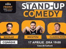 Cisnădie: Stand-up comedy cu Micutzu, Bucălae si Claudiu Popa
