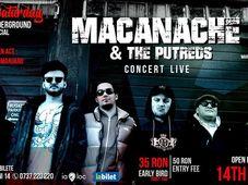 Concert Macanache & The Putreds