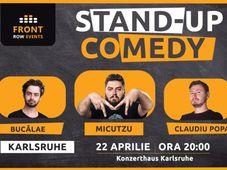 Karlsruhe: Stand-up comedy cu Micutzu, Bucălae & Claudiu Popa