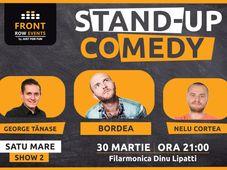 Satu Mare: Stand-up comedy cu Bordea, Tănase & Nelu Cortea Show 2