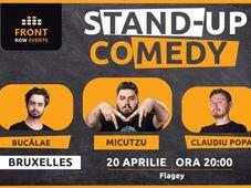 Bruxelles: Stand-up comedy cu Micutzu, Bucălae & Claudiu Popa
