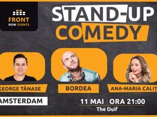 Amsterdam: Stand-up comedy cu Bordea, Ana-Maria Calița & George Tănase