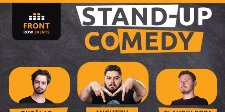 Barcelona: Stand-up comedy cu Micutzu, Bucălae & Claudiu Popa