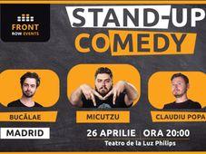 Madrid: Stand-up comedy cu Micutzu, Bucălae & Claudiu Popa