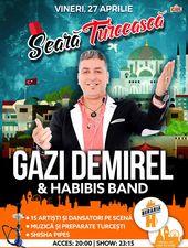 Seară Turcească: Gazi Demirel & Habibis Band