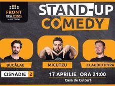 Cisnădie: Stand-up comedy cu Micutzu, Bucălae & Claudiu Popa Show 2