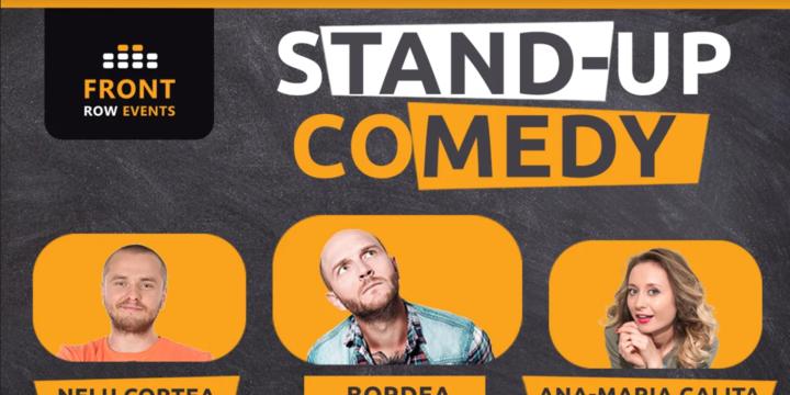 Londra 2: Stand-up comedy cu Bordea, Ana-Maria Calița & Nelu Cortea