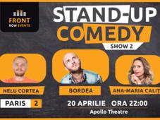 Paris 2: Stand-up comedy cu Bordea, Ana-Maria Calița & Nelu Cortea