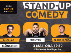 München: Stand-up comedy cu Micutzu, Bucălae & Toni Andrei
